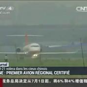 Le premier avion régional chinois va voler sur les lignes intérieures