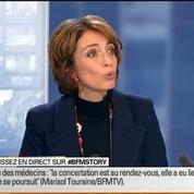BFM Story: Grève des médecins: Marisol Touraine défend son projet de loi