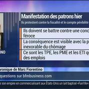 Marc Fiorentino: Manif des patrons:C'est un événement, un vrai