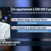 New York: un appartement à 500.000 dollars par mois