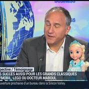 La Grande Récré: La semaine entre Noël et le Jour de l'an est important pour le commerce du jouet: Franck Mathais