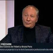 Éric Fréchon, chef trois étoiles au guide Michelin et chef des cuisines de l'Hôtel Bristol Paris (2/2) –