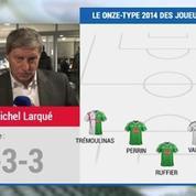 Football / Équipe de France : L'équipe-type 2014 de Jean-Michel Larqué