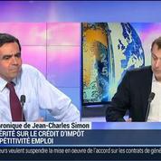 Jean-Charles Simon: Fiscalité: Ce n'est pas sur les petites entreprises qu'il y a eu la plus grosse pression