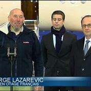 Le récit du retour en France de Serge Lazarevic, ex-otage
