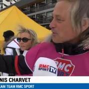 RMC Sport Games / Denis Charvet assure au biathlon