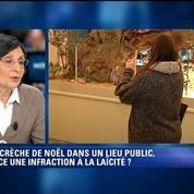 Martine Cerf sur la crèche dans la mairie de Béziers: Ce n'est absolument pas conforme à la loi