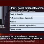 Spéciale loi Macron: est-ce la réforme qui peut faire sauter les verrous ?: Valérie Rabault, Frédéric Lefebvre, Catherine Carely et Emmanuel Lechypre (2/2) –