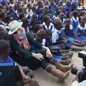 Madonna en visite au Malawi pour sa fondation