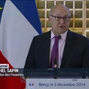 Impôts: Sapin promet qu'il n'y aura aucune hausse jusqu'en 2017