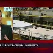 Présentation des plus beaux bateaux du Salon Nautic: Thomas Gailly, Olivier Poncin, Stéphanie de Loustal et Vincent Lemesle (2/5)