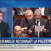 BFM Story: Vote historique: L' Assemblée nationale a reconnu l'État de la Palestine –
