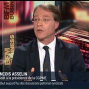 François Asselin, candidat à la présidence de la CGPME (3/3)