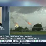 Quelles sont les conséquences de la chute continue du pétrole sur les marchés?: Gianluca Tarolli –