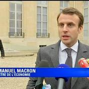 Macron : «La responsabilité du patronat est de mener des accords de branche»