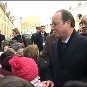 François Hollande : «Non je ne suis pas le pape»