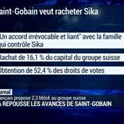 Saint-Gobain veut prendre le contrôle du suisse Sika