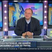 Jean-Marc Daniel: En quoi le statut de l'auto-entrepreneur était-il un succès ?