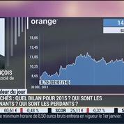Marchés boursiers: Qui sont les gagnants et les perdants de l'année 2014 ?: Thibault François