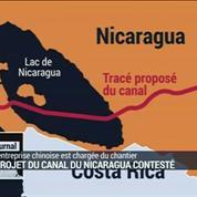 Le projet du canal du Nicaragua contesté