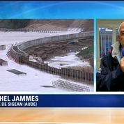 Le maire de Sigean après les inondations: Pour l'essentiel, la digue a joué son rôle