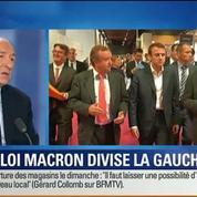 BFM Story: Le projet de loi Macron divise la gauche –