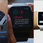 En 2015, la sortie de l'Apple Watch va faire exploser le marché des montres connectées