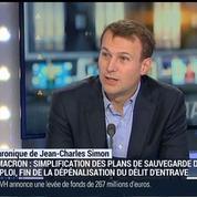 Jean-Charles Simon: La loi Macron va dépénaliser le délit d'entrave
