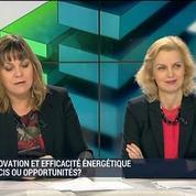 La rénovation énergétique représente un enjeu clé: Patricia Laurent, Sabine Basili, Frédéric Weiland, Damien Sudreau et Nicolas Moulin (1/4)