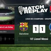 Barça-PSG (3-1) : le Match Replay avec le son de RMC Sport