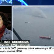 Grèce : Un mort dans l'incendie du ferry italien