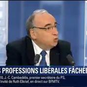 BFM Story: Emmanuel Macron n'a pas convaincu les professions libérales –