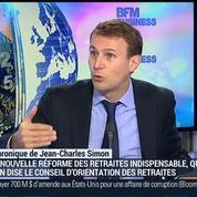 Jean-Charles Simon: Réforme des retraites en France: On est très loin du stress test –