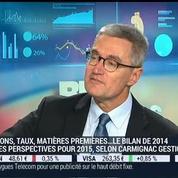 La seule chose qu'on puisse vraiment acheter en Europe c'est l'impact de Mario Draghisur les marchés: Didier Saint-Georges –