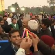Inde : veillée aux chandelles en solidarité envers le Pakistan