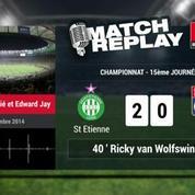 Saint-Etienne - Lyon (3-0) : Le Match Replay avec le son RMC Sport !