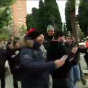 Football / Le PSG en balade dans les rues de Barcelone