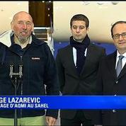 Lazarevic à son arrivée en France: La liberté c'est plus fort que tout