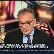 Dominique Marcel, président directeur général de la Compagnie des Alpes (2/3) –