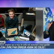 Amazon livre par erreur 4.500 euros de colis à un étudiant