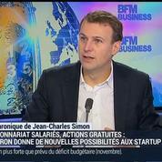 Jean-Charles Simon: Loi Macron: Quels sont les changements pour la fiscalité des actions gratuites ?
