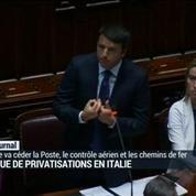 Dette: l'Italie va reprendre son programme de privatisation