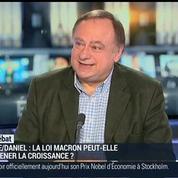 Jean-Marc Daniel: Y-a-t-il de réels leviers de croissance dans la loi Macron ?
