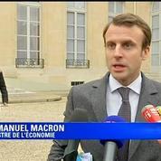 Macron: la responsabilité du patronat est de mener des accords de branche