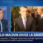 BFM Story: Loi Macron: la gauche divisée, l'exécutif à la recherche d'une majorité –