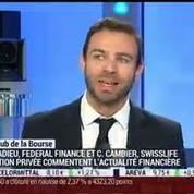 Le Club de la Bourse: Stéphane Cadieu, Christian Cambier et Mikaël Jacoby