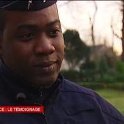 Steeve, policier devenu symbole après le bisou d'un manifestant