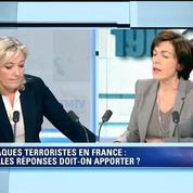 Attentats: Il faut suspendre Schengen immédiatement, demande Marine Le Pen