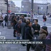 Charlie Hebdo déjà en rupture de stock