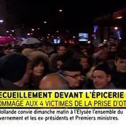 Porte de Vincennes, la foule se réunit dans la dignité